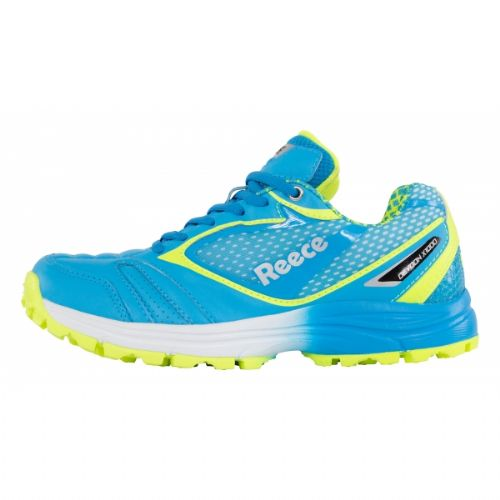 Reece Devoon Blue/Yellow Hockey Shoe Junior